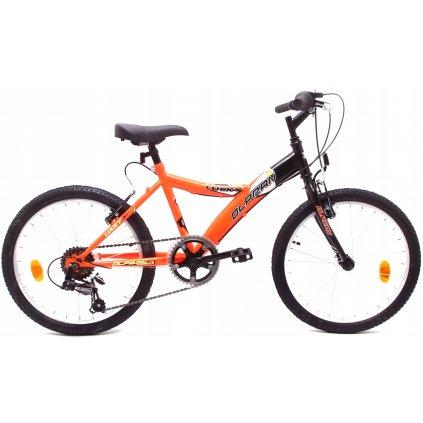 """Lucky 20"""" oranžová/černá"""