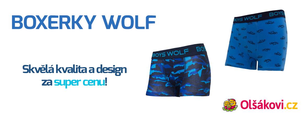 Skvělé boxerky značky WOLF