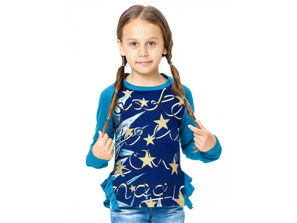 Dívčí mikina WINKIKI WJG82148, vel.128-152