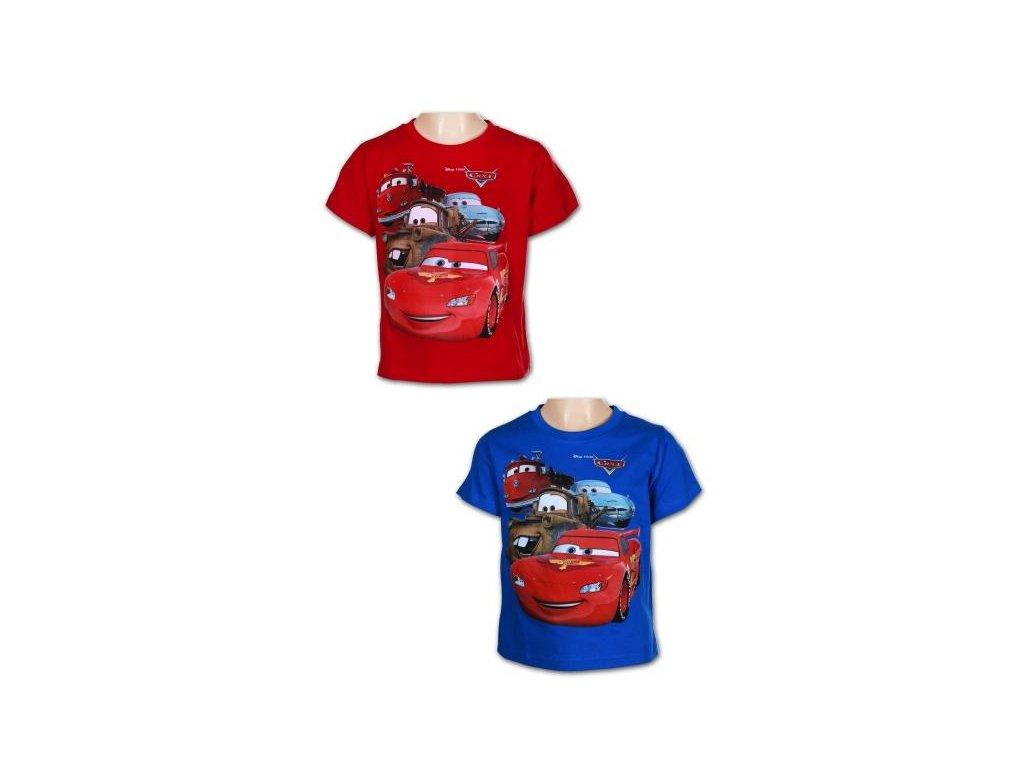 Chlapecké triko - Auta 961-738, modrá
