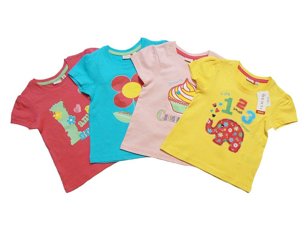 Dívčí triko krátký rukáv