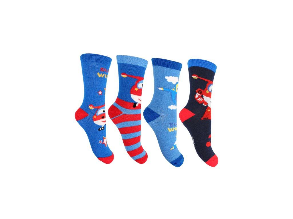 Chlapecké ponožky - SETINO Super Wings - 881-254 , vel. 23-34