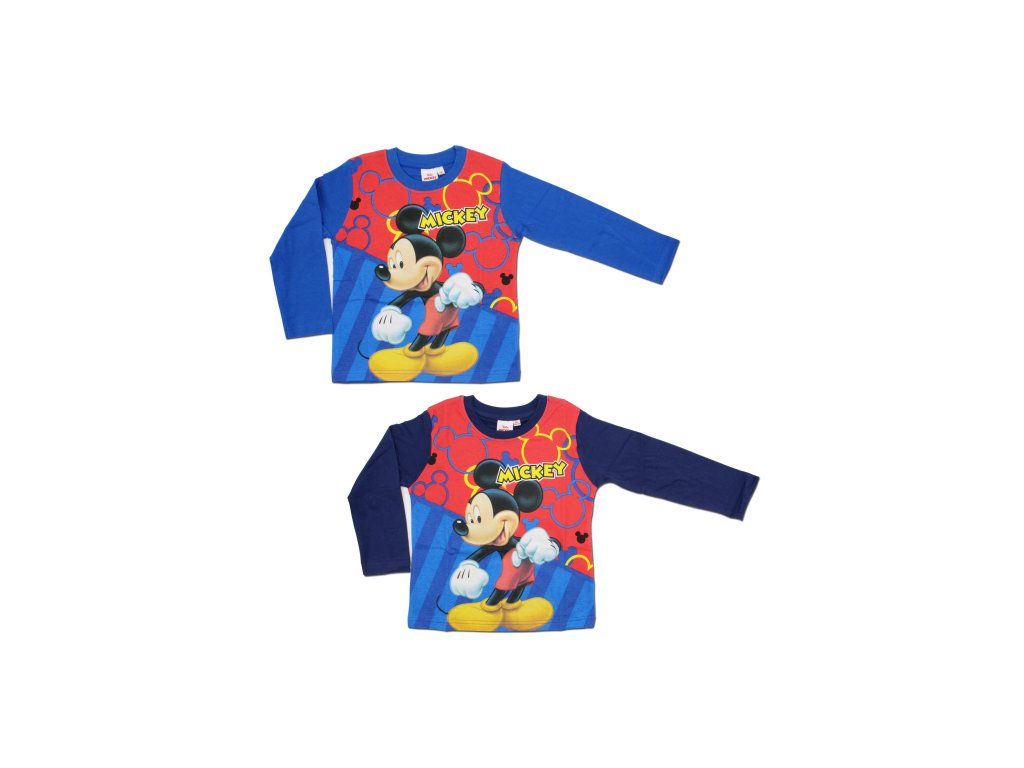 Chlapecké triko dlouhý rukáv Disney