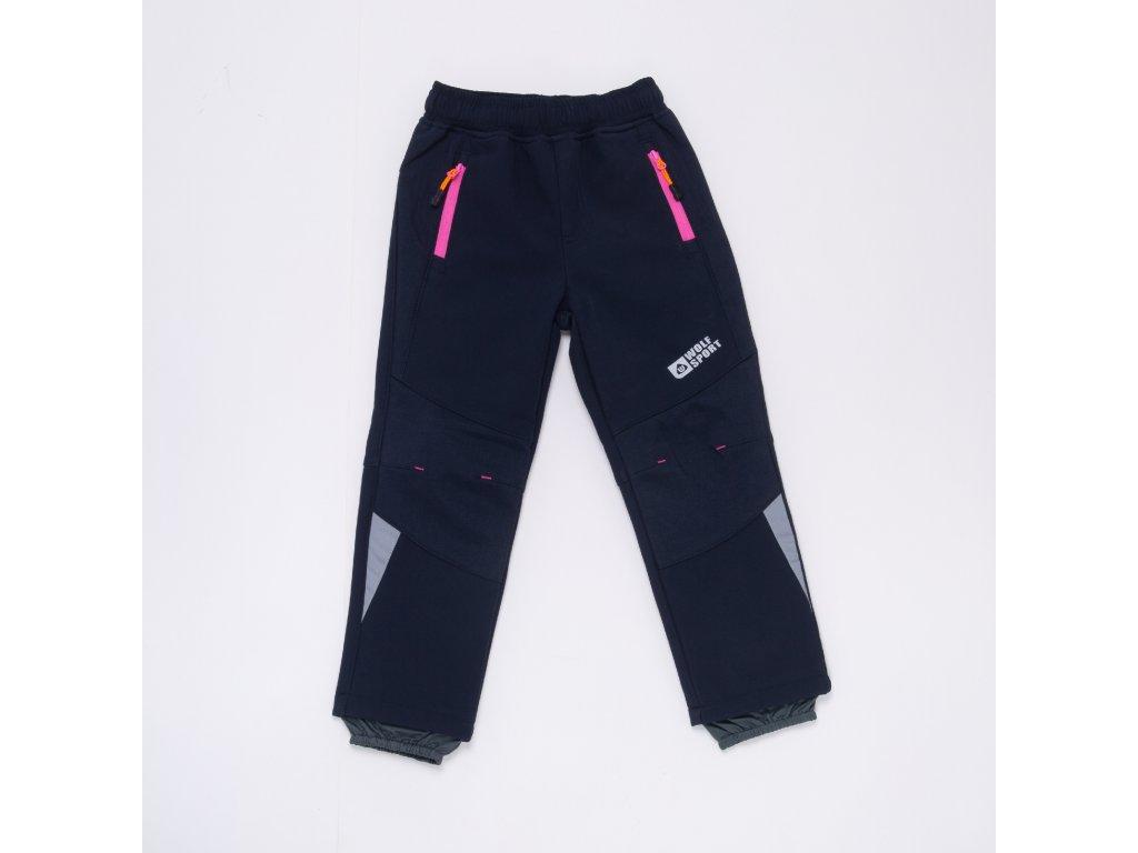 Dívčí softshellové kalhoty,