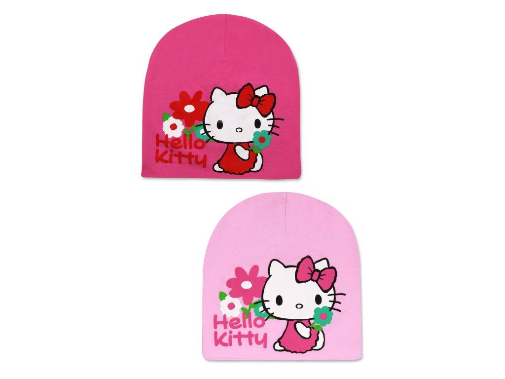 Dívčí čepice - Hello Kitty 771-855, růžová světlejší