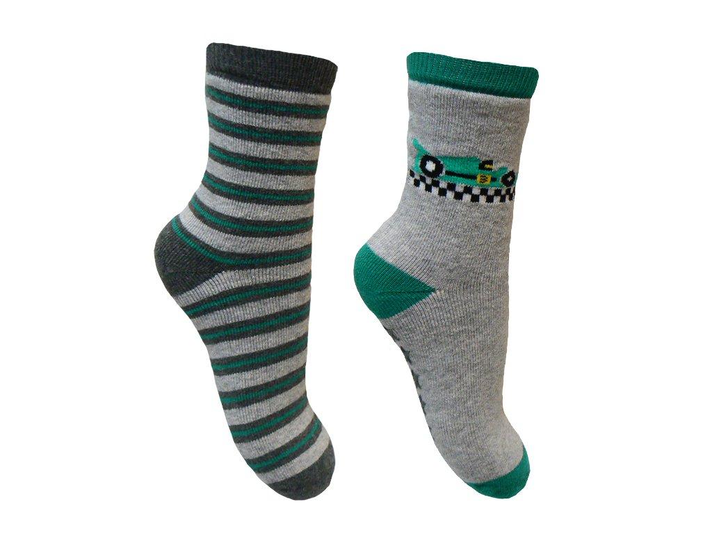 chlapecke ponozky zelene 1