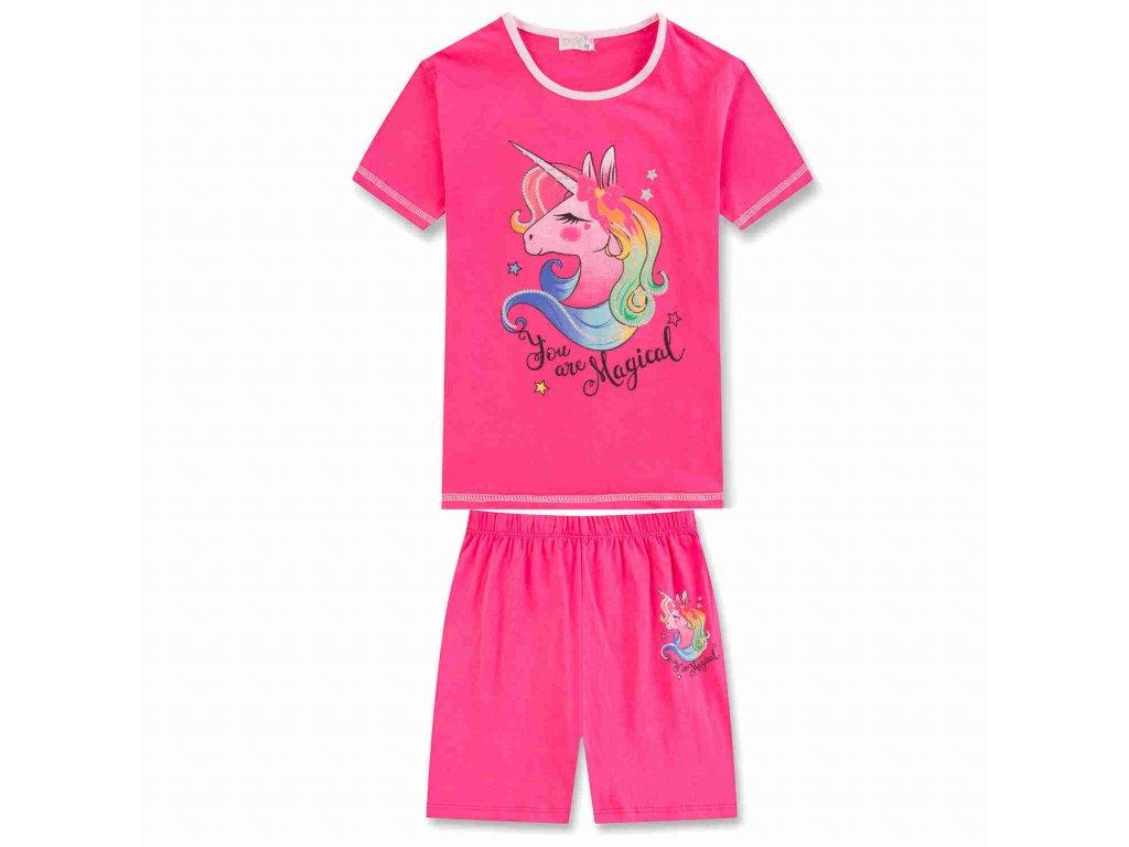 Dívčí letní pyžamo