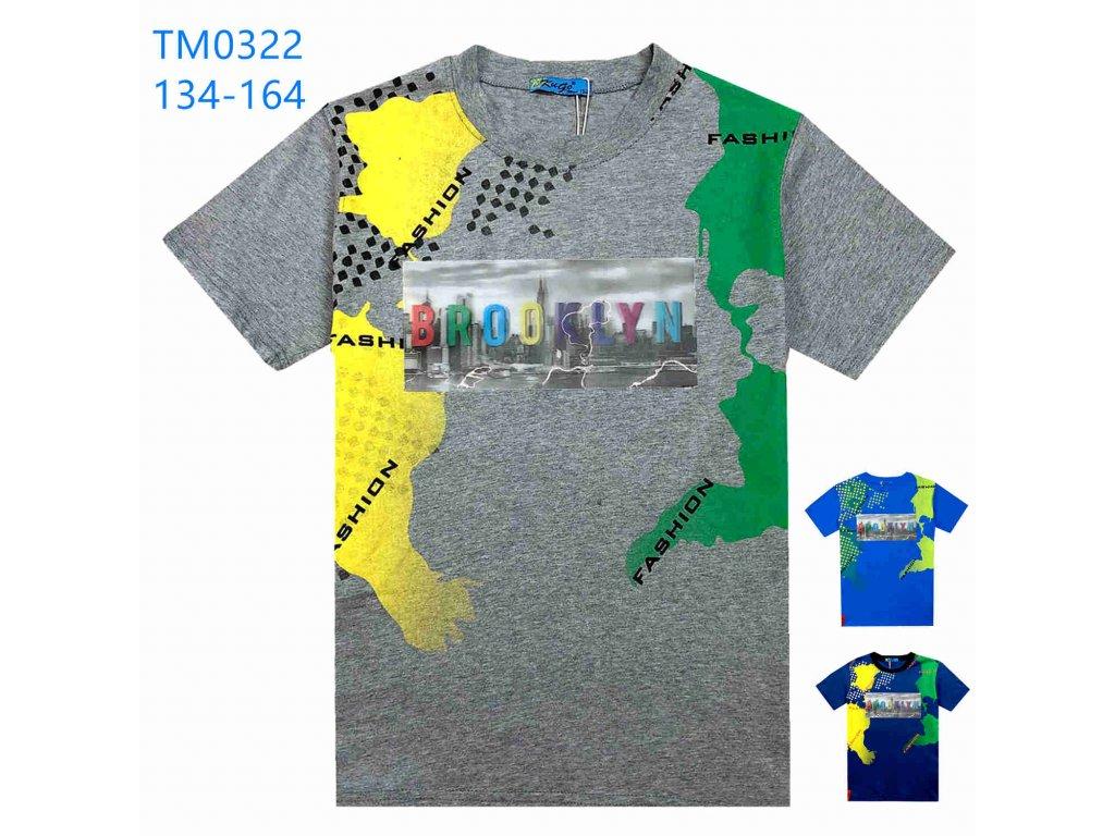 Chlapecké triko 3D