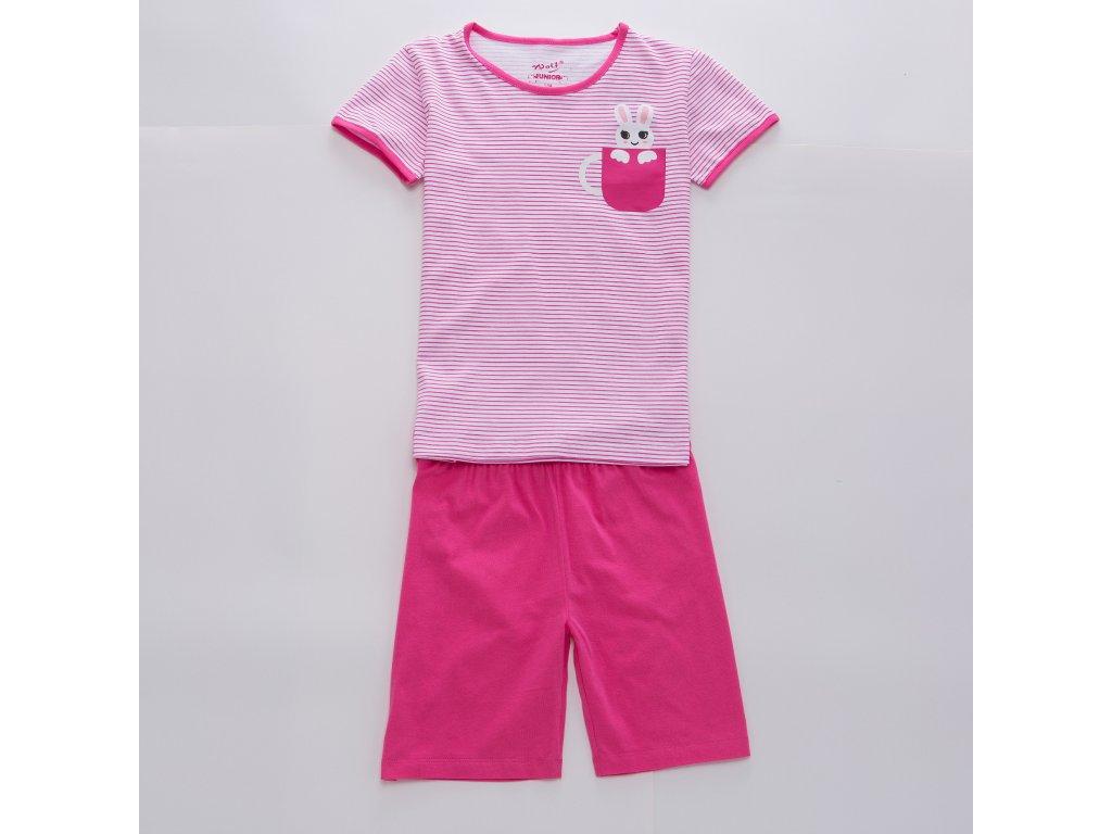Dívčí  pyžamo - Wolf S2965,  růžová