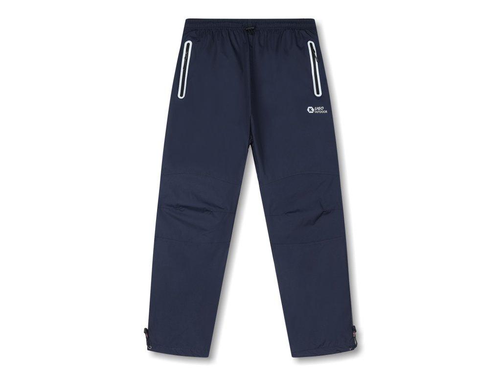 Pánské šusťákové kalhoty, zateplené