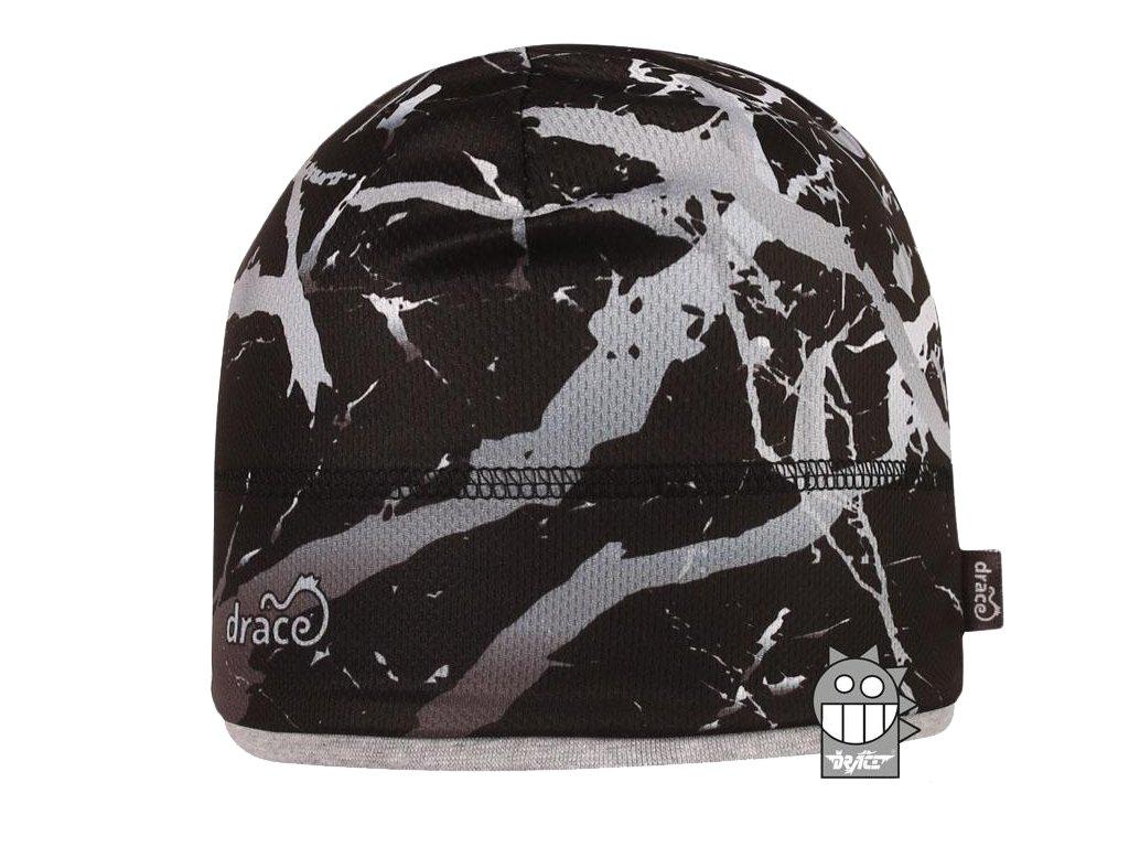 Chlapecká funkční čepice Dráče - Cyril 58, černá