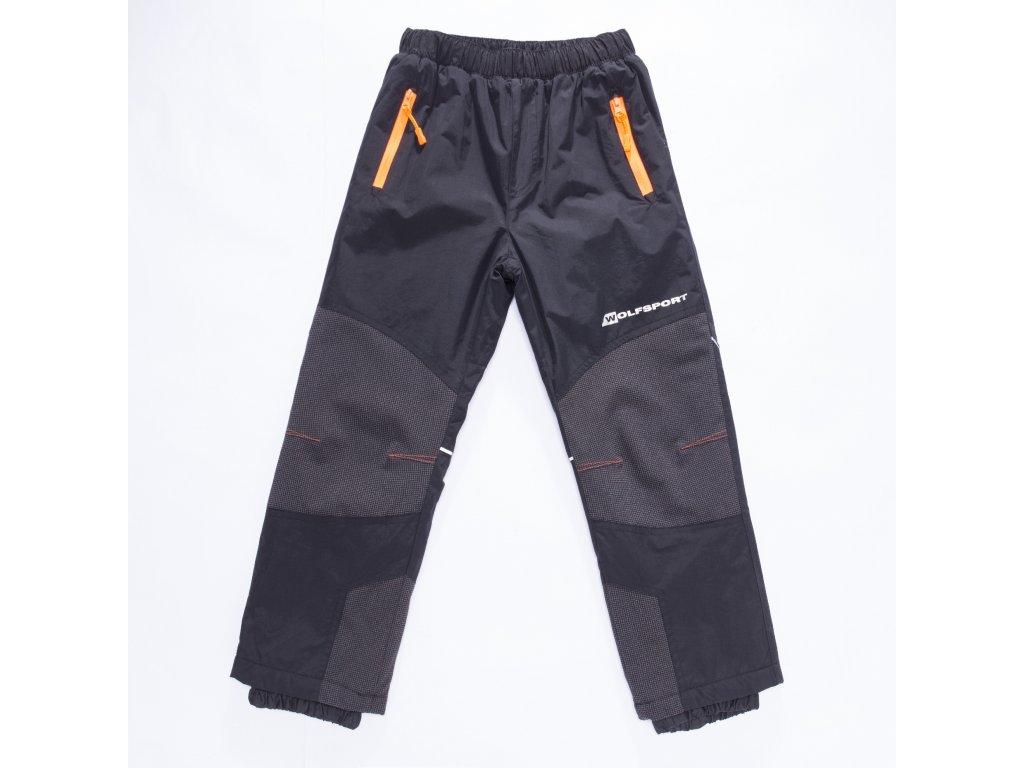 Chlapecké šusťákové kalhoty, zateplené - Wolf B2872, vel.98-128