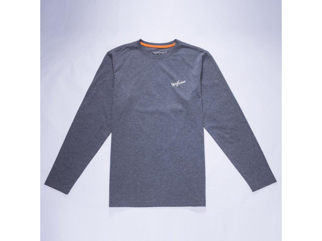 Pánské triko-Wolf S2872, šedá
