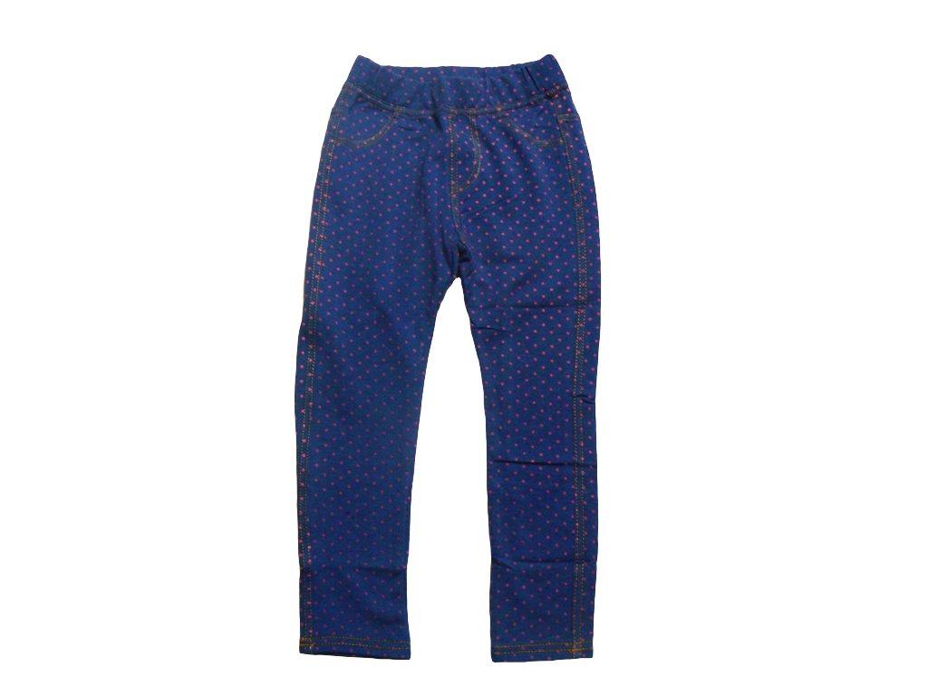 Dívčí legíny-GRACE G50036, modrá