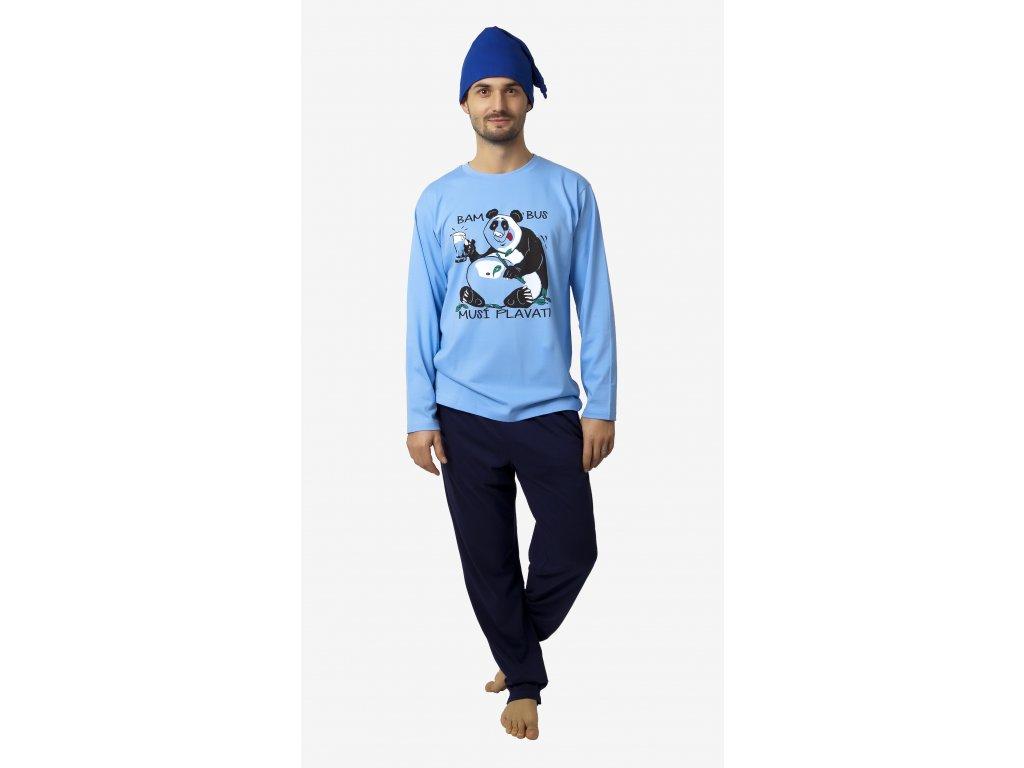 Pánské pyžamo- CALVI 18-216, vel.M-XL