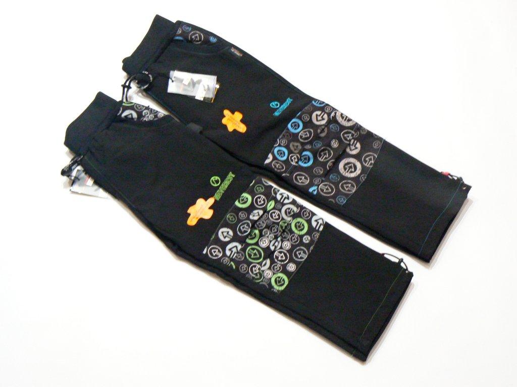 Chlapecké softshellové kalhoty-NEVEREST F7281cc, vel.92-122