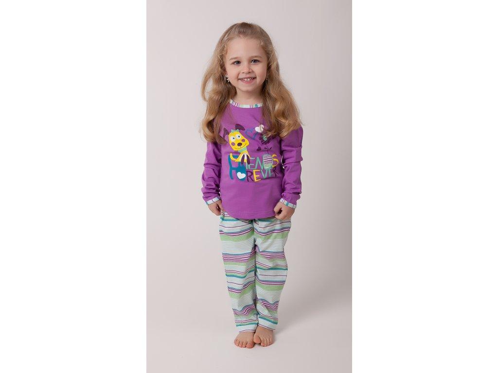 Dívčí pyžamo- CALVI 16-194, ve.100-130