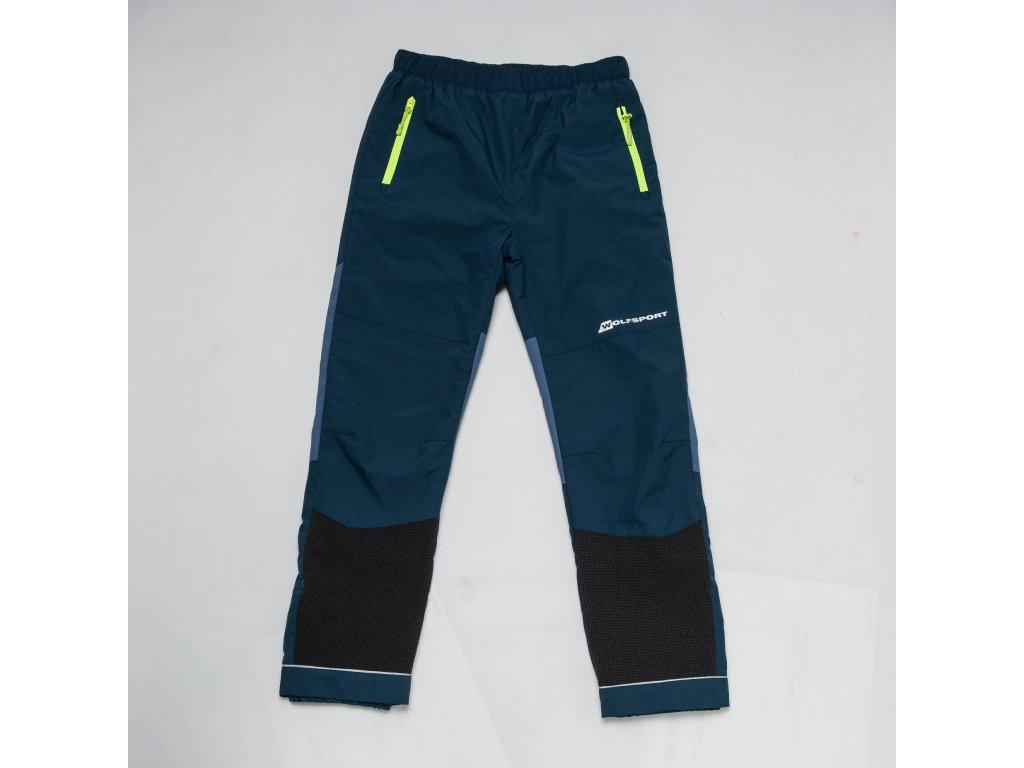 Chlapecké šusťákové kalhoty, zateplené-Wolf B2874, petrol