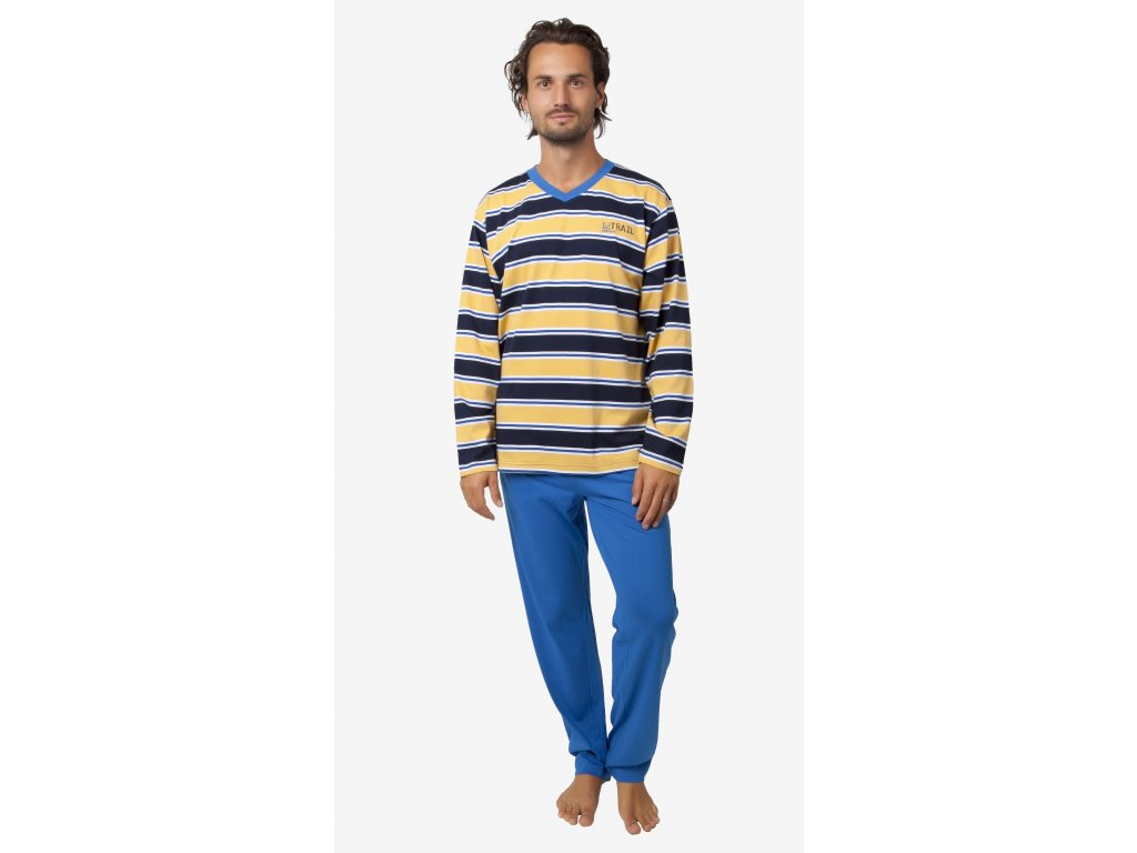 Pánské pyžamo- CALVI 18-400, vel.M-XXL