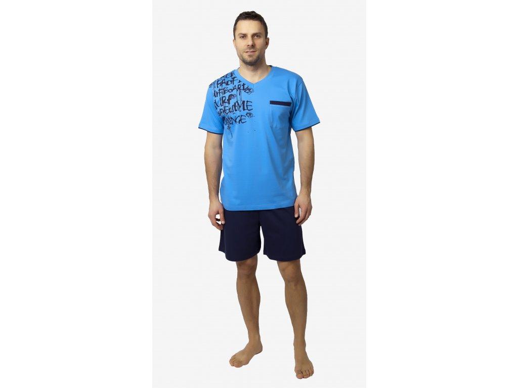 Pánské pyžamo - CALVI 18-204, vel.M-XL