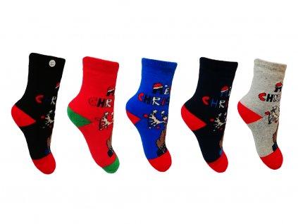ponozky christmas