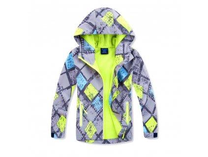 Chlapecká softshellová bunda