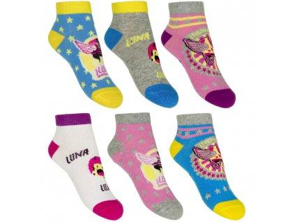 Dívčí kotníkové ponožky