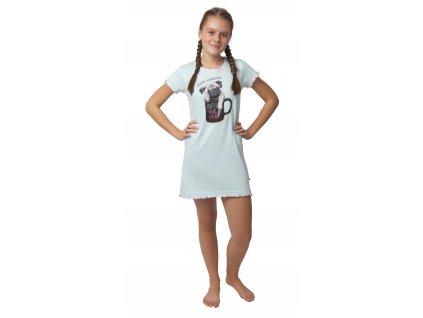 Dívčí noční košile - CALVI 0-084, vel. 140-160