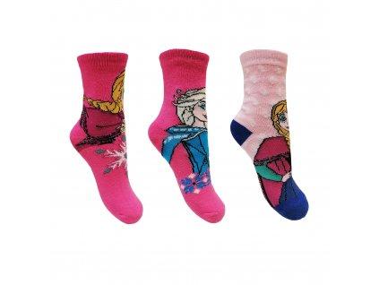 Dívčí ponožky - SETINO Frozen ST- 78, vel. 23-36