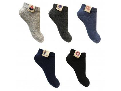 Chlapecké kotníkové ponožky
