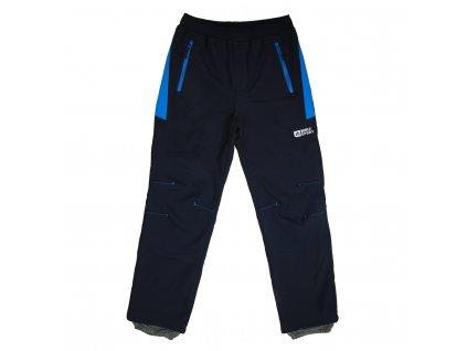 Černá - modrá kolena