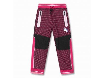 Dívčí zateplené outdoorové kalhoty