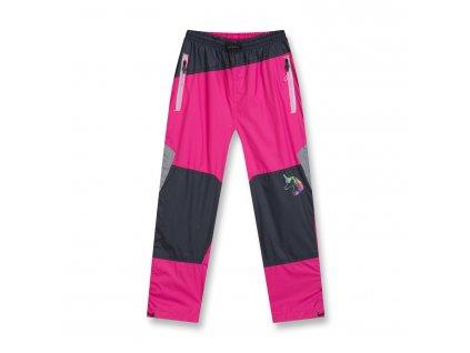 Dívčí šusťákové kalhoty