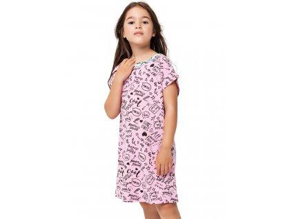 Dívčí noční košile Winkiki WJG 92621, růžová