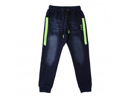 Chlapecké riflové kalhoty, tepláky