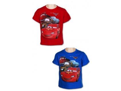 Chlapecké triko - Auta 961-738, červená