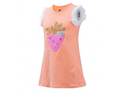 Dívčí triko, tílko s flitry