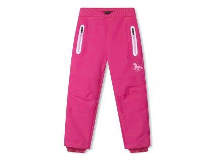 Dívčí softschellové kalhoty