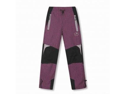 Dívčí plátěné kalhoty