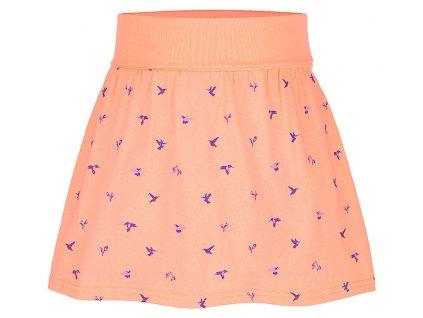 baxika divci sportovni sukne oranzova
