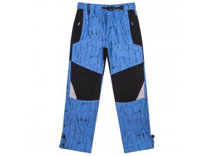 kalhoty B 70679 modre