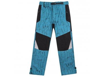 Chlapecké outdoorové kalhoty - GRACE B-70679, petrol