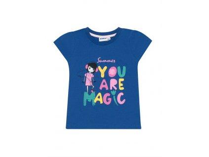 Dívčí bavlněné tričko
