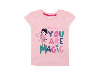 Dívčí bavlněné triko