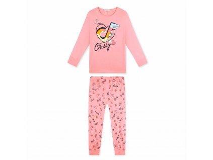 Dívčí bavlněné pyžamo