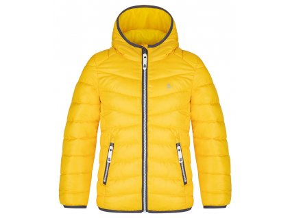 ingell detska zimni bunda zluta 1