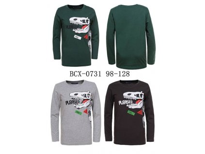 Boy s knitted long sleeve T shirt (4) (1)