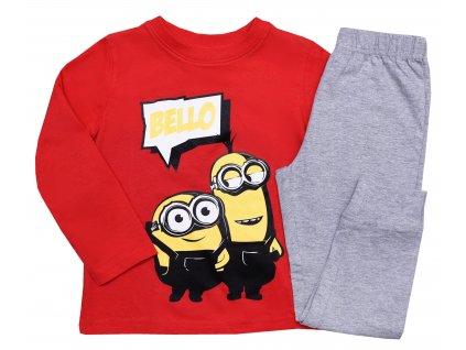 Chlapecké pyžamo - Mimoni 5204722, červená