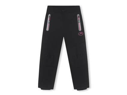 Dívčí softschellové kalhoty, zateplené