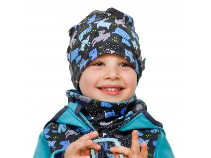 Chlapecká fleecová čepice